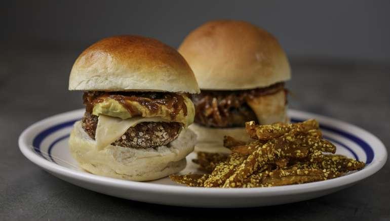 Hamburgers Veganos da Patricia Helu